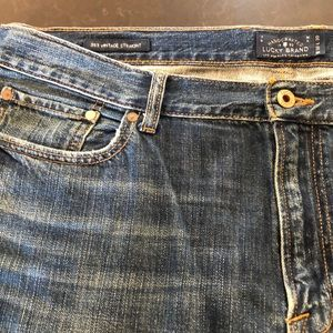 Lucky Brand 363 vintage straight jeans 38 x 30